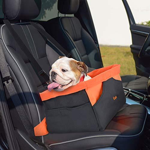 Legendog borsa trasportino cane, borsa da trasporto traspirante impermeabile per cani, gabbia da viaggio portatile per cani di piccola e media taglia (arancione)