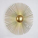 Nordic lampada da parete post-moderna stile minimalista di lusso designer soggiorno camera da letto comodino lampade da sole, diametro 400mm