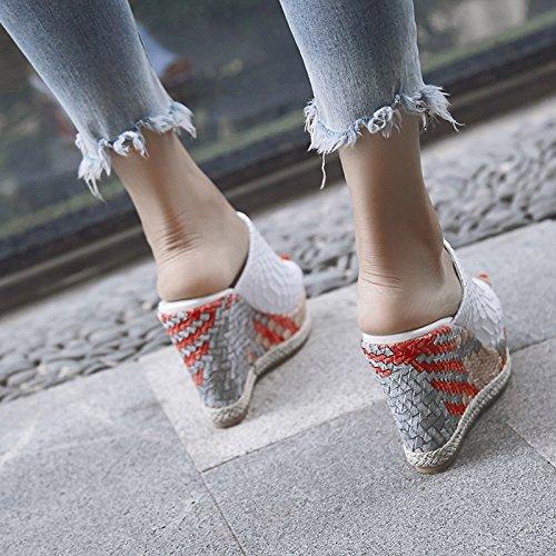 ZPPZZP Ms sandali pantofole estate stile Coreano spessa per esterno 35EU