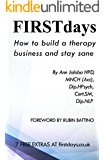 Firstdays: How to build a therapy business and stay sane