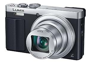 Panasonic DMC-TZ70 LUMIX 30x Travel Zoom Digital Camera with Eye Viewfinder WiFi NFC - International Version (No Warranty),(Silver)