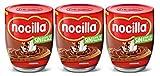 Nocilla Original: crema de cacao natural con avellanas - Sin aceite de palma - 3 Envases de vidrio reutilizable de 380 gramos - (Total 1.140gr)