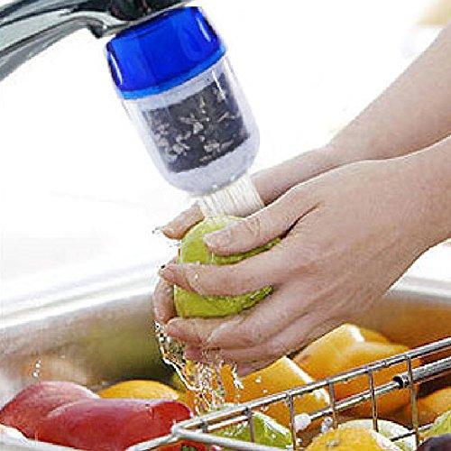 Wasserhahn Wasser Luftreiniger, Medical Wasser Filter System Haushalt Wasserhahn Wasserhahn für Küche Bad -