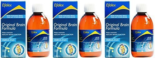 (3 PACK) - Efamol - Efalex Liquid | 150ml | 3 PACK BUNDLE by Efamol