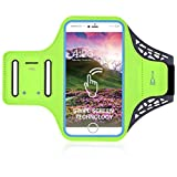 Sportarmband Handyhülle for Samsung Galaxy S7 edge S6 Edge S7 S6, iPhone 8 Plus 7 Plus 6S Plus Handytasche Sport Joggen Laufen Gym Arm handyhalterung Waterproof Wristband Resistant with Key Pocket Small Money