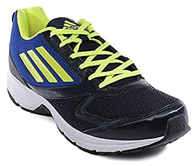 Adidas Adimus Men's Navy Blue / R.Blue and P.Green Running Shoes (AF3009) (9 UK)