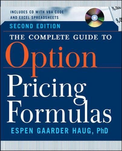 The Complete Guide to Option Pricing Formulas (Professional Finance & Investment)