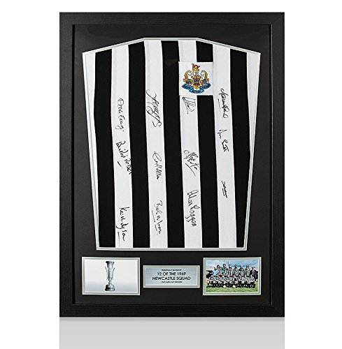 Framed-Newcastle-Hand-Signed-Shirt-1969-Fairs-Cup-Winners