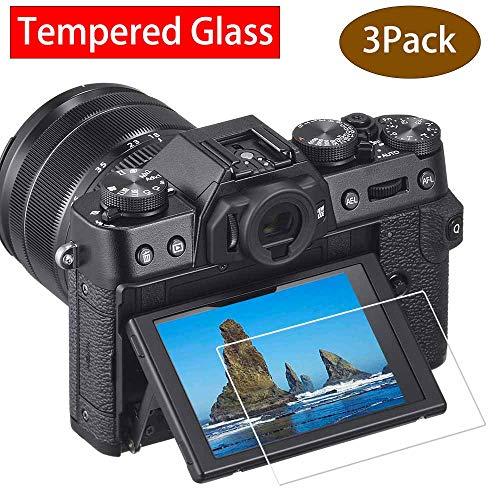 ULBTER X-T30 Displayschutzfolie für Fujifilm X-T30 X-T20 X-T10 X-E3 XF10 Fuji Film X-T100 X-A1 X-A2 XT30 Digitalkamera,0,3 mm 9H Härte gehärtetes Glas Flim Anti-Scrach Anti-Fingerabdruck 3 Stück Lcd-touch Screen Protector