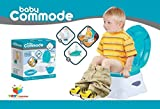 Toys Bhoomi 3-in-1 Easy to Learn 1-2-3 Teach Me Potty Seat Baby Commode Toilet Trainer kit - Splash Free Potty Box Step Stool