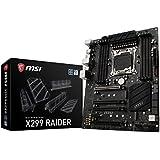 MSI X299 Raider Carte mère Intel Core X-Series  Socket LGA2066  SATA