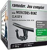 Rameder Attelage démontable avec Outil pour Mercedes-Benz Classe V + Faisceau 13...