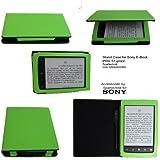 Spartechnik - Funda para E-Reader Sony PRS T2 (función atril), color verde