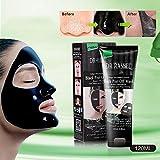 Blackhead Remover Mask, ETTG Bamboo Charcoal Deep Cleansing Acne Black Mud Face Mask, Blackhead Peel-off Mask