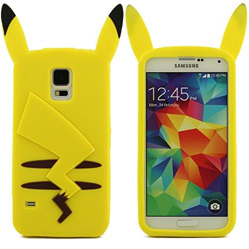 Ultra Dünn weich Schutz- Case Silikon Gel Cartoon Art Silikon Gel Schutzhülle Stoßstange Case Bumper Für Samsung Galaxy S5 SV i9600 Hülle