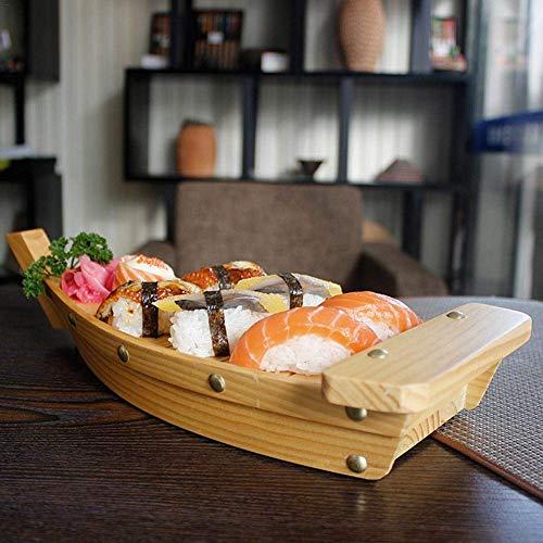Augproveshak creative barchetta in legno utensili cucina giapponese sushi sashimi piatto barchetta, decorazioni da tavola per gli alimenti di partito, snack, stuzzichini, antipasti, finger food