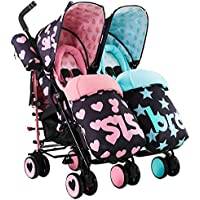 Cosatto Supa Dupa Double Stroller, Sis and Bro 5