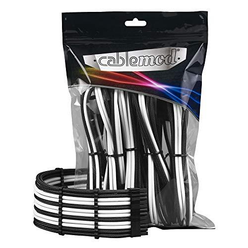 CableMod PRO ModMesh Cable Extension Kit - schwarz/weiß -