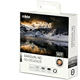 Cokin Graduated ND Filter Kit P Series, with Filter Holder & Graduated ND Filters (121L, 121M, 121S)