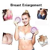 Buydaly Poitrine massage instrument, masseur électrique de sein, une augmentation mammaire, Massage D'Agrandissement Mammaire, Anti-poitrine Fléchissement, sans fil invisible