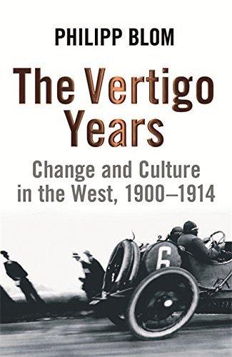 Vertigo Years by Philipp Blom (2009-08-01)