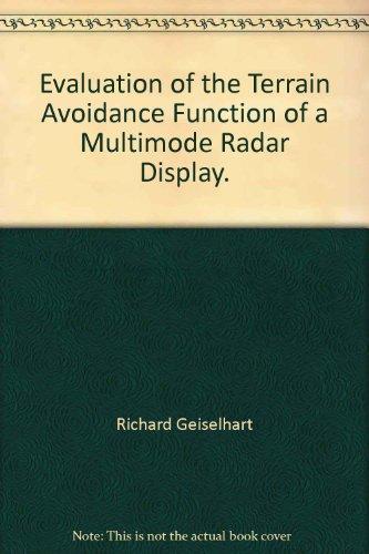 Evaluation of the Terrain Avoidance Function of a Multimode Radar Display. (Radar-display)