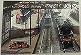 Football Club Railway Train Locomotive Postcards 1994 Barnsley