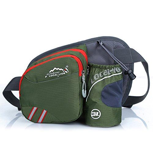 Taschen Brust Tasche Umhängetaschen laufen Sport Wasserflasche Fanny Pack Herren Outdoor-Dienstprogramm-Paket 2