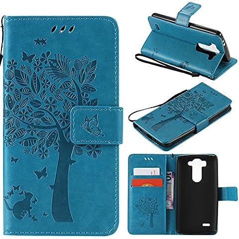 Housse Lg G3s - Coque LG G3 Mini ,SmartLegend élégance Etui