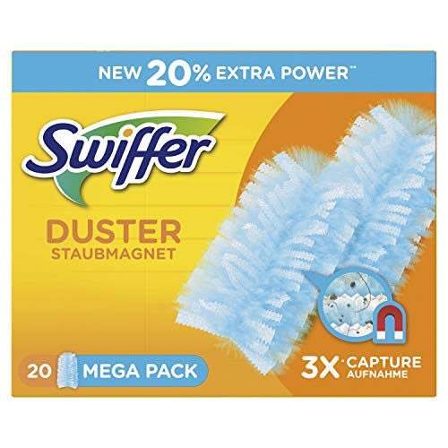 Swiffer Staubmagnet Tücher Nachfüllpackung, 60 Stück, (3 x 20 Tücher)