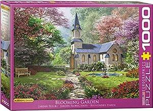 EuroGraphics 6000-0964 Blooming Garden - Puzzle (1000 Piezas)