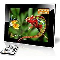 Cytem Diamine 8i IPS Display; Digitaler Bilderrahmen 20,3cm (8 Zoll im 4:3 Format); HD-Video (720p); (Schwarz)