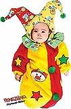 fabriqué en Italie en peluche bébé garçons filles Circus Clown Sac de couchage Sac Parure de lit Chambre d'enfant Déguisement 0–3mois