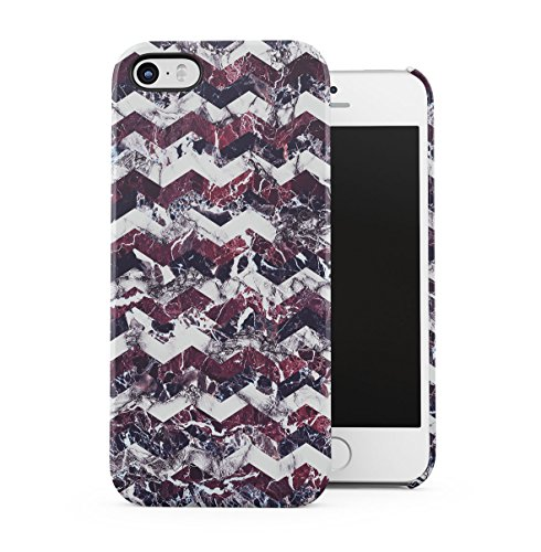 Marble Stone Forest Woods Nature Tumblr Apple iPhone 4 , iPhone 4S Snap-On Hard Plastic Protective Shell Case Cover Custodia Purple Marble