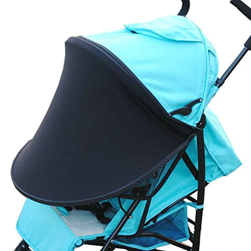 Mengonee Kinderwagen Sonnenschutz Neugeborener Buggy Canopy Kleinkind Kinderwagen Baby Prams Sonnenschutz UV-Schutzabdeckung
