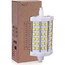 Easy Provider® R7S 42 5050 SMD 920LM 10W Bombilla Luz LED Blanco Cálido Regulable