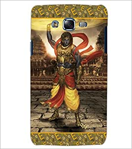 PrintDhaba Lord Krishana D-5698 Back Case Cover for SAMSUNG GALAXY ON 5 (Multi-Coloured)