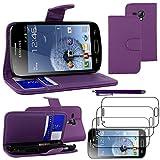 ebestStar - Compatible Coque Samsung Galaxy Trend S7560, S Duos S7562 Etui PU Cuir...
