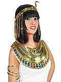 Generique - Stirnband Pailletten Goldene ägyptische Schlange Damen