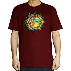 Camiseta para hombre diseño Mandala