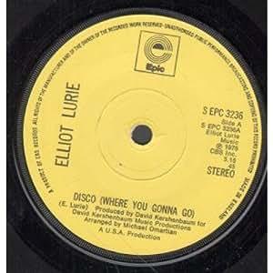 Elliot Lurie - Disco (Where You Gonna Go)