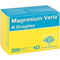Magnesium Verla N, 200 St. Dragees preisvergleich bei billige-tabletten.eu