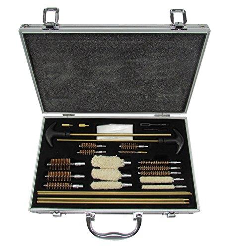 tourbon Universel en Aluminium Gun Cleaning Kit pour Fusil Pistolet Pistolet Shotgun
