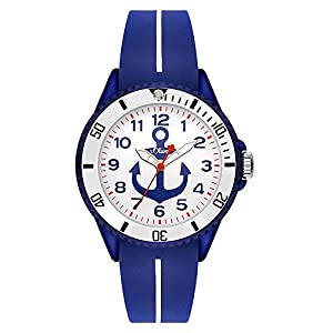 s.Oliver Unisex Analogue Quartz Watch with Silicone Strap SO-3500-PQ