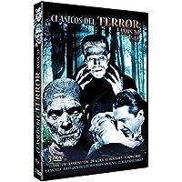 Pack Clásicos del Terror Años 30 Vol. 1: El Doctor Frankenstein + Drácula + El Hombre y el Monstruo (Dr. Jekyll and Mr. Hyde) + La Momia + La Legión de los Hombres sin Alma + El Malvado Zaroff