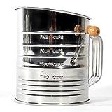 Jacob Bromwell alle Vakuum-Kaffeemaschine, 4-Kurbel Mehlsieb (Edelstahl)