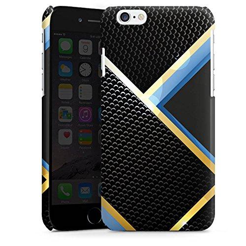 Apple iPhone 5s Housse Outdoor Étui militaire Coque Motif Motif Noir bleu or carbone Cas Premium brillant