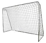 POWERSHOT Fußballtor 3 x 2m aus Stahl, Klicksystem und Zubehör - Torwand...