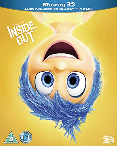 Inside Out (3D) [Blu-ray] [UK Import]