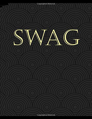 SWAG: Composition Notebook with Blank College-Ruled Lined Paper.